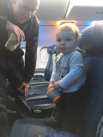 jack on plane